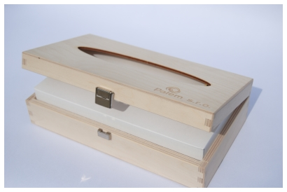 drevena krabicka na kapesniky